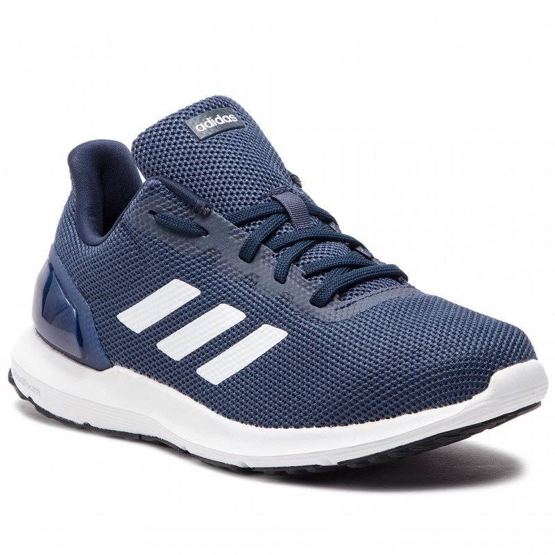 (UK 9.5) New Adidas Cosmic 2 Navy Blue Men's Running Trainers Comfortable Sneakers