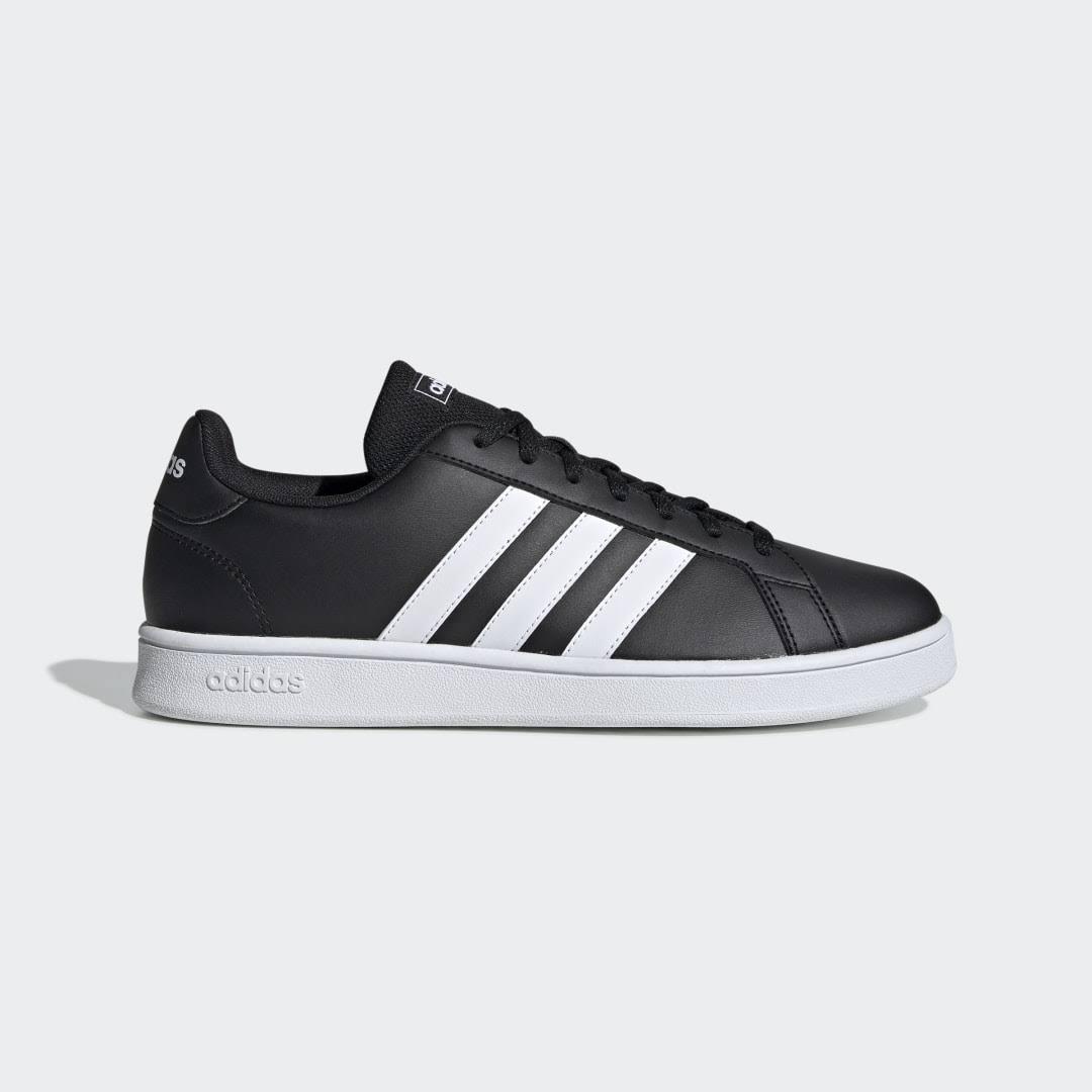 Adidas Grand Court Base Shoes - Black - Men - Sale