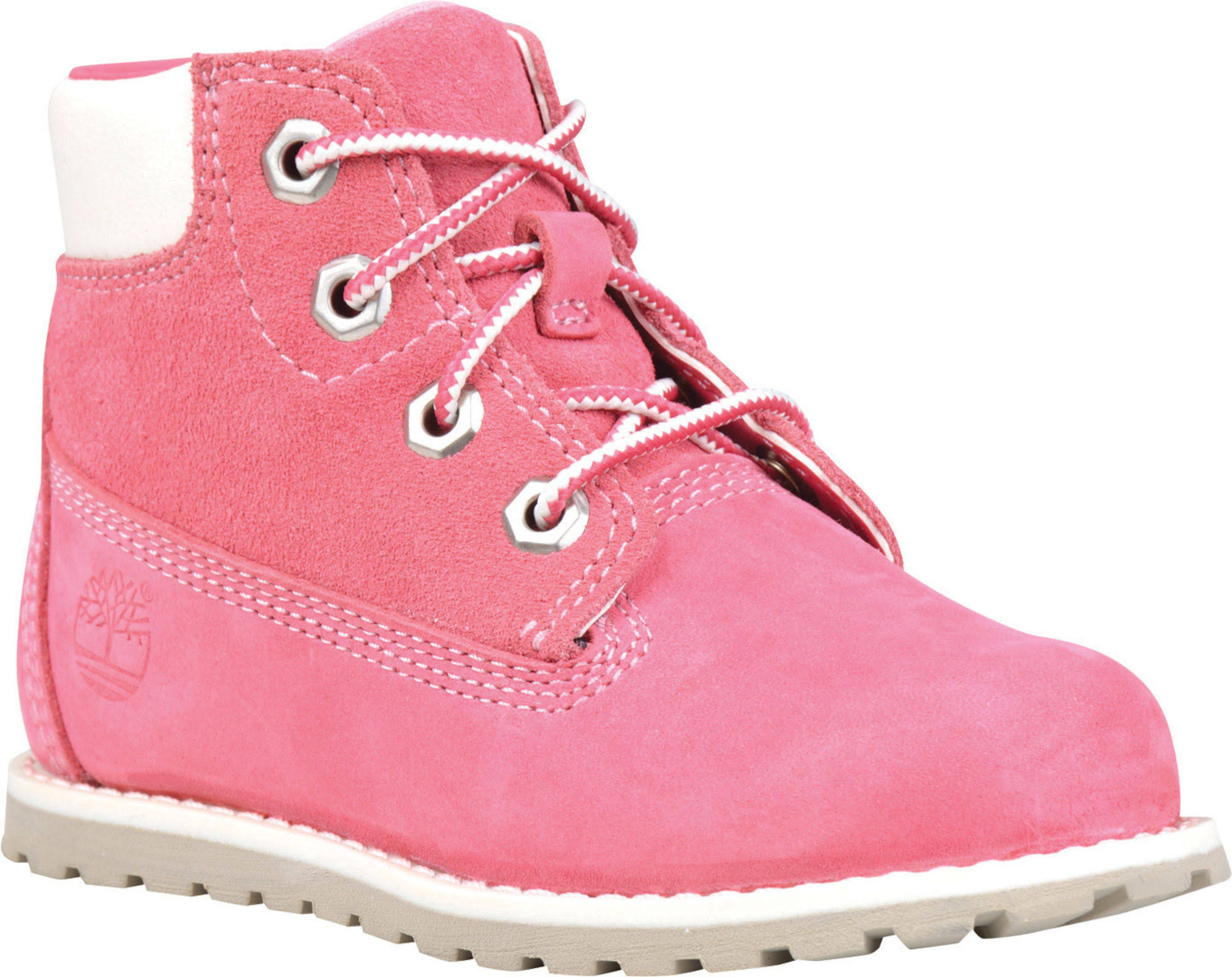 Toddlers 25 6 Side Eu Pine With Timberland Zip Pokey Boot Pink 2 1 In 84qxwvE