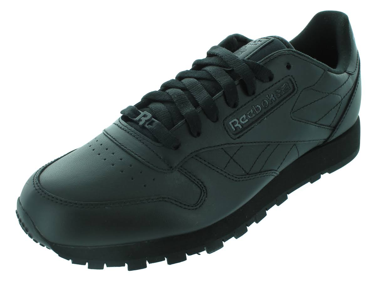 Reebok 13 Leather Negro Running Classic Shoes CrCq08Pw