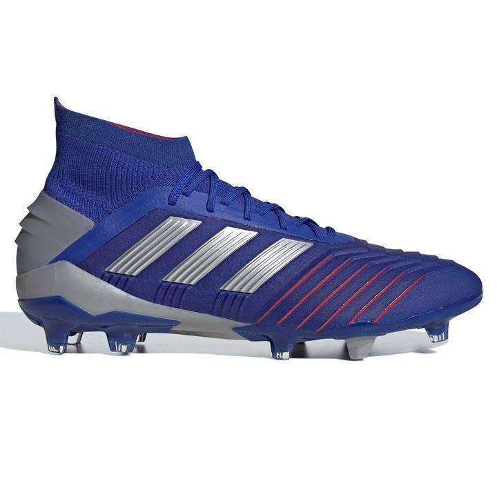 Predator Adidas Soccer Cleats Fg 1 Mens Blue 19 12 Size dUqwUx1
