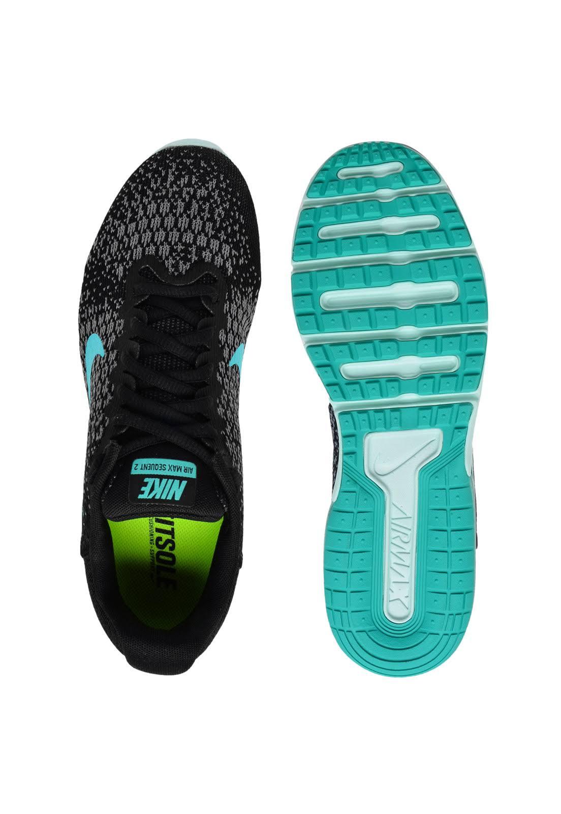 Verde Preto 2 Água Tênis Air Preto Feminino Sequent verde Nike Max 8Sw8Ixq0Y