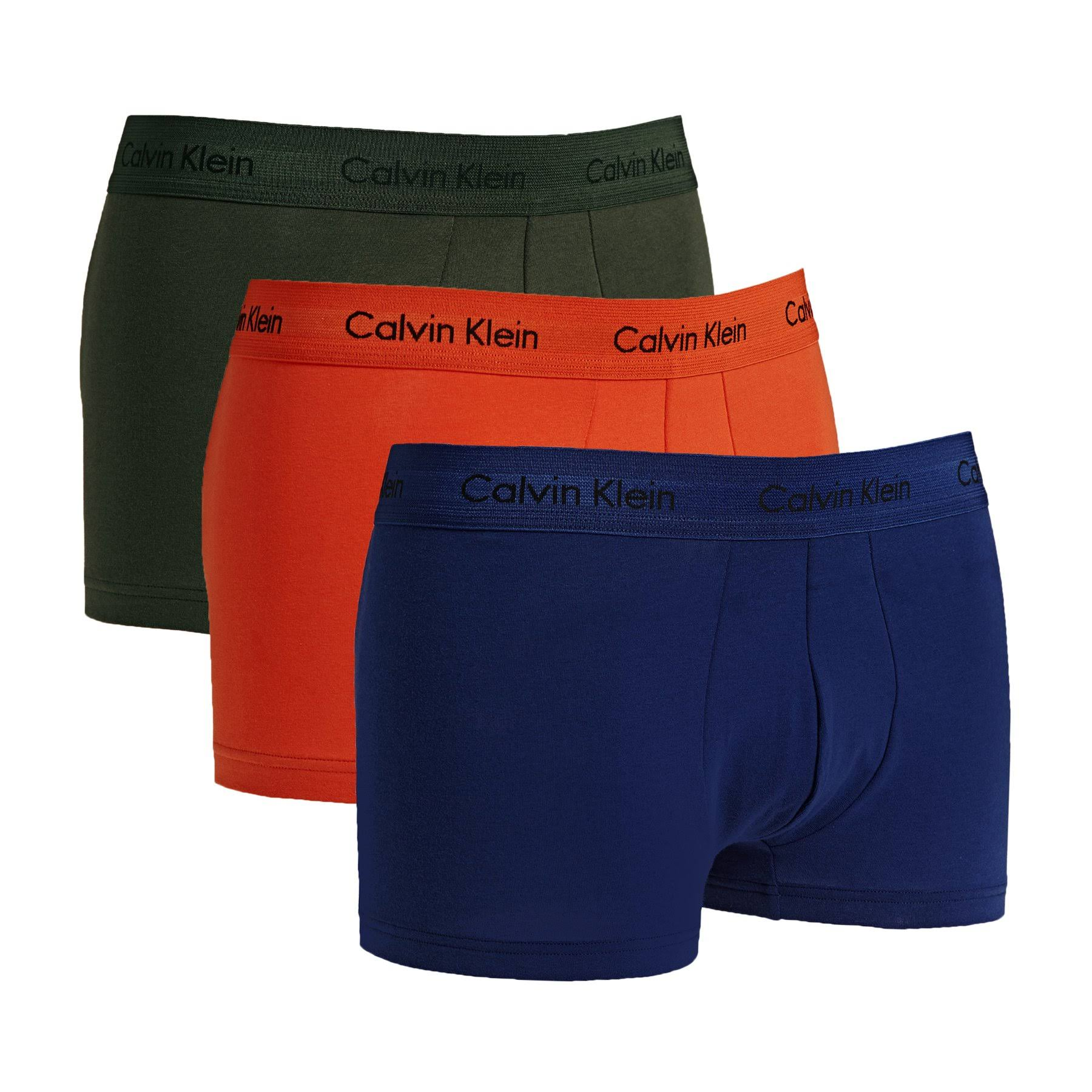 S Forestnight Night Klein 3p Calvin Lr Dark Darknight Forest Boxershorts Sorange Orange p1BnRxqw