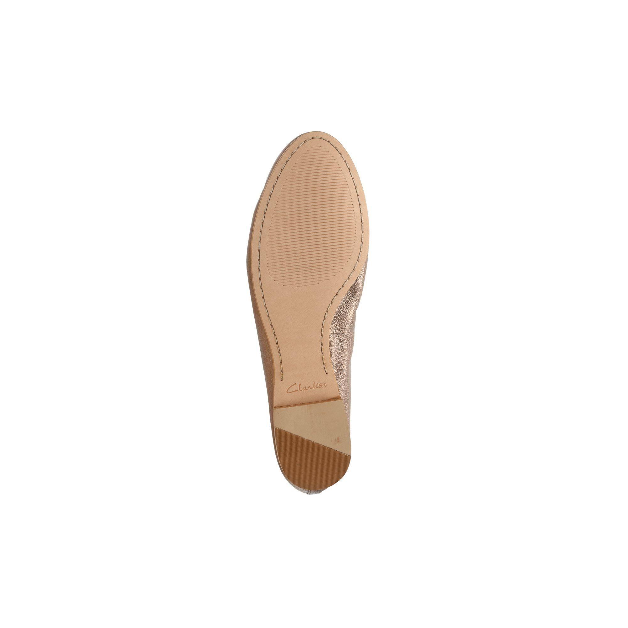 Bronze Gold Grace Clarks Mia Damen Ballerina KT3l1cJF
