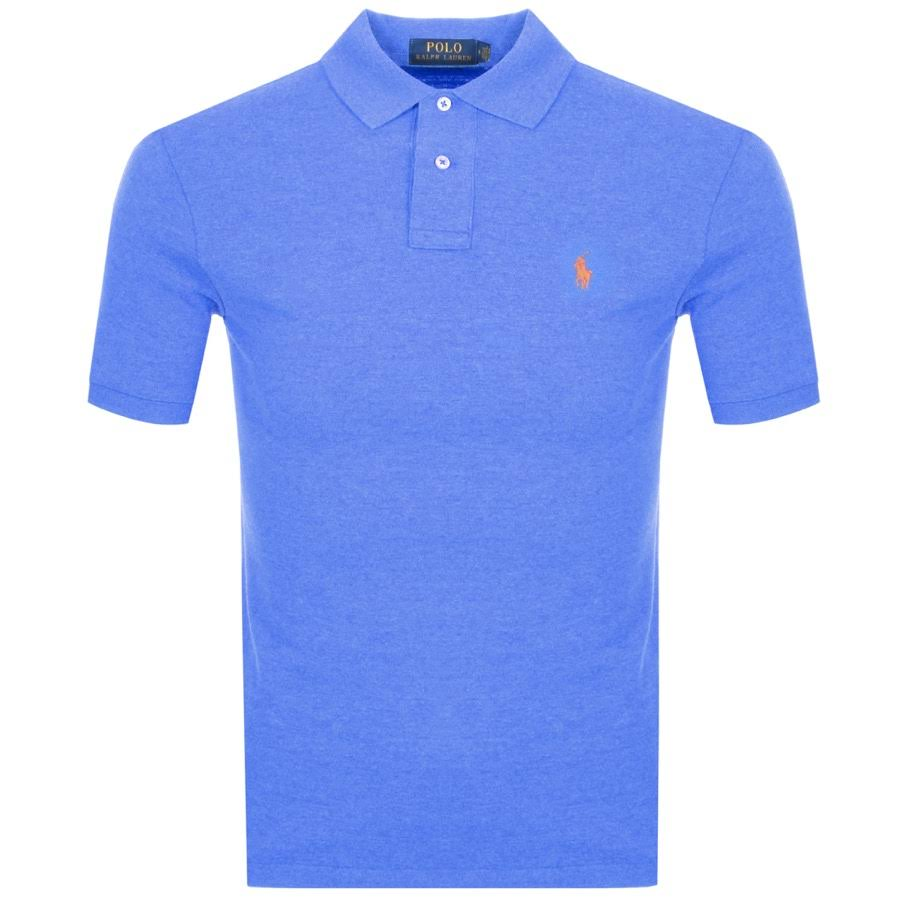 Camiseta Azul Fit Lauren Slim Polo Ralph wvRIfgvq