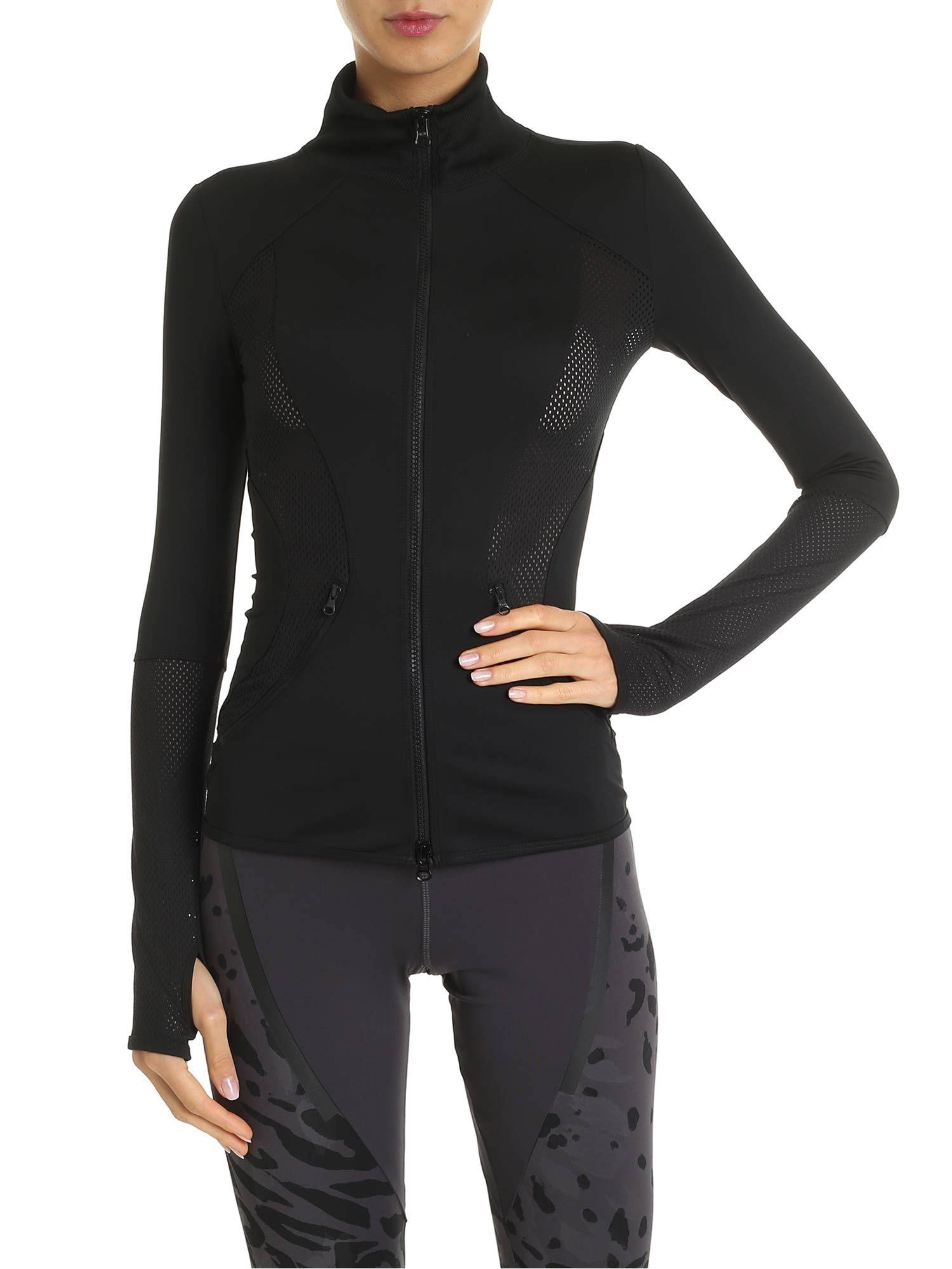 Adidas Essentials Mid-Layer Track Top Training - Womens - Black