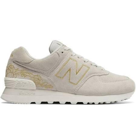 Gold Off 6 Wl574nga New Balance White 18Xq0x