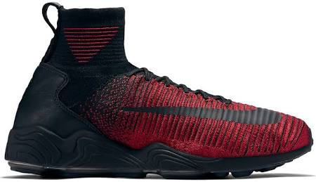 Nike Mercurial Xi Flyknit University Red Black
