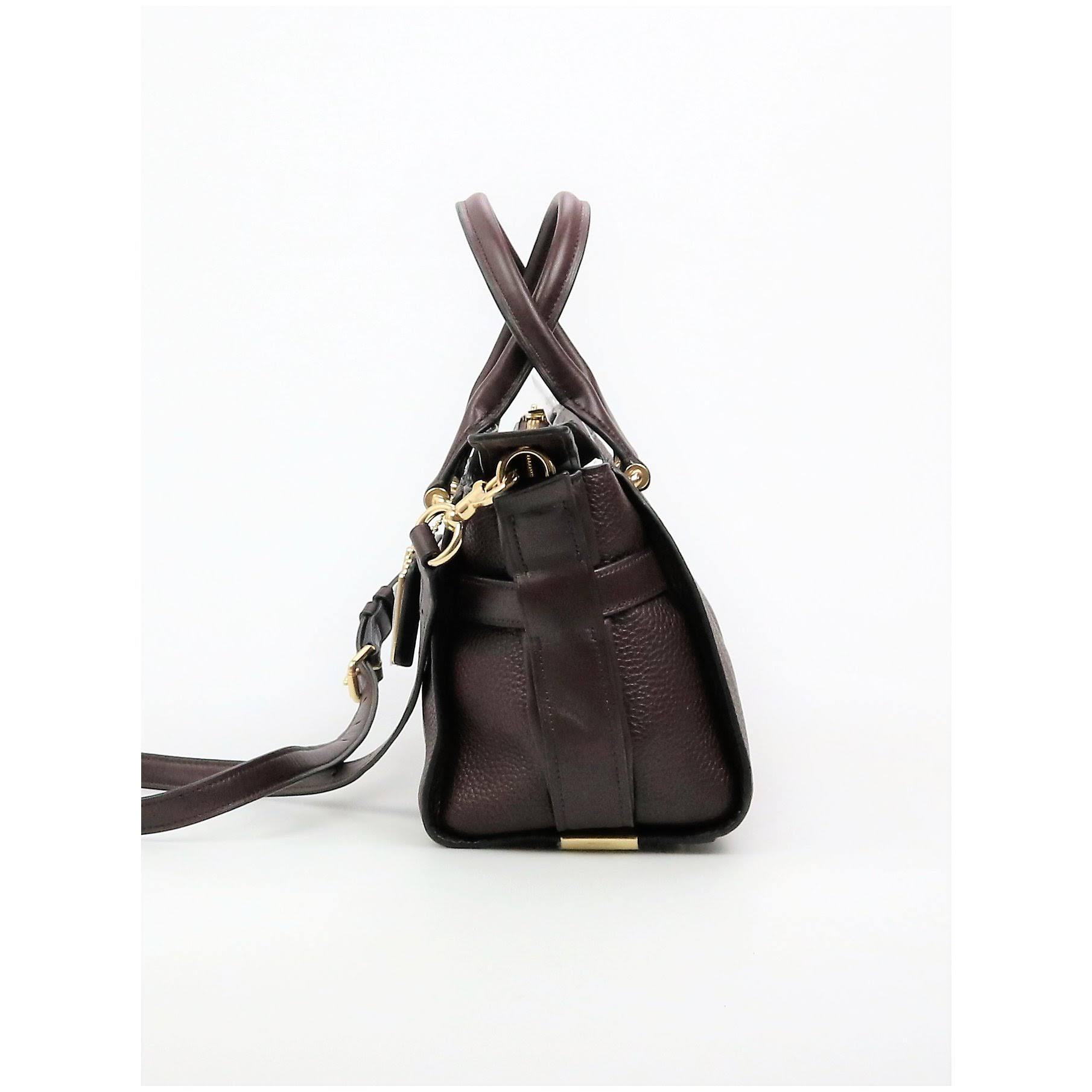 27 Pebble Leather In Swagger Coach Oxblood dxshCBrtQ