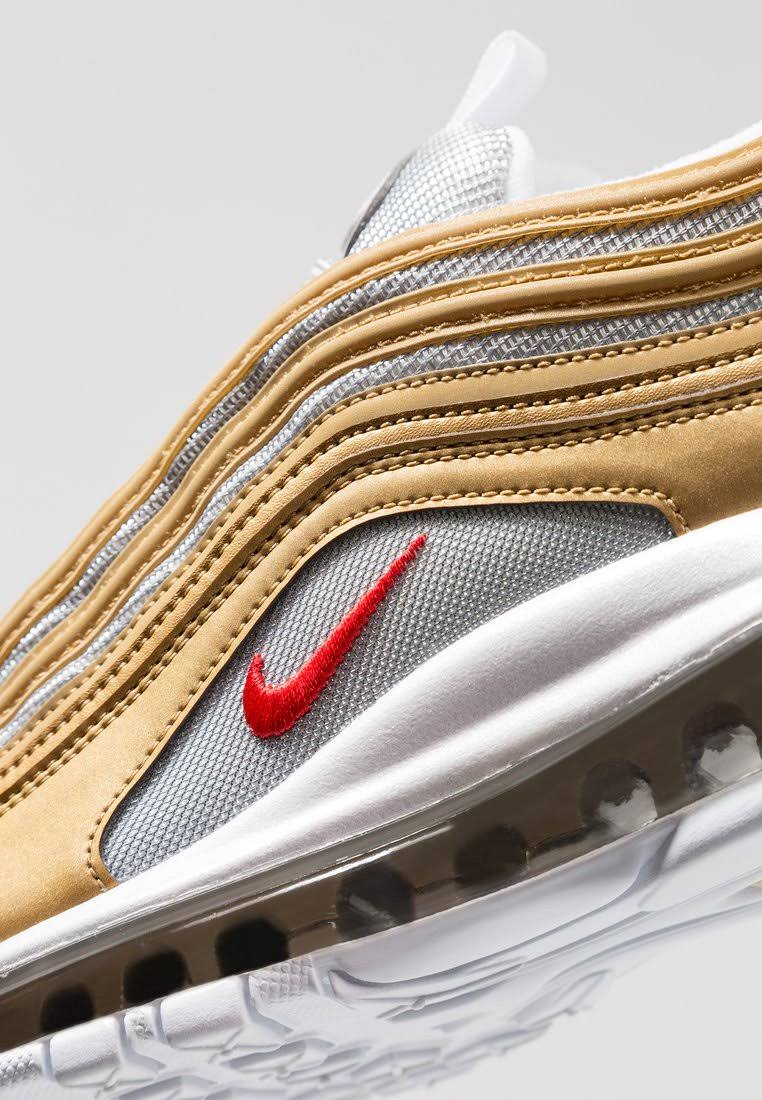 Max Ssl Orange 97 Red Nike Metallic Air Gold university t4wt5T