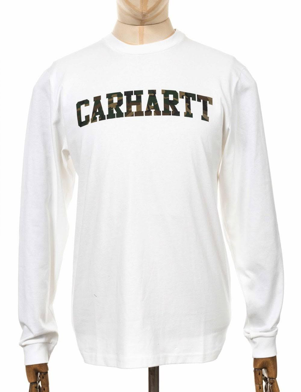 shirt t Camo amp; L Carhartt M S Laurel Weiß Wip College 1qqIwXz