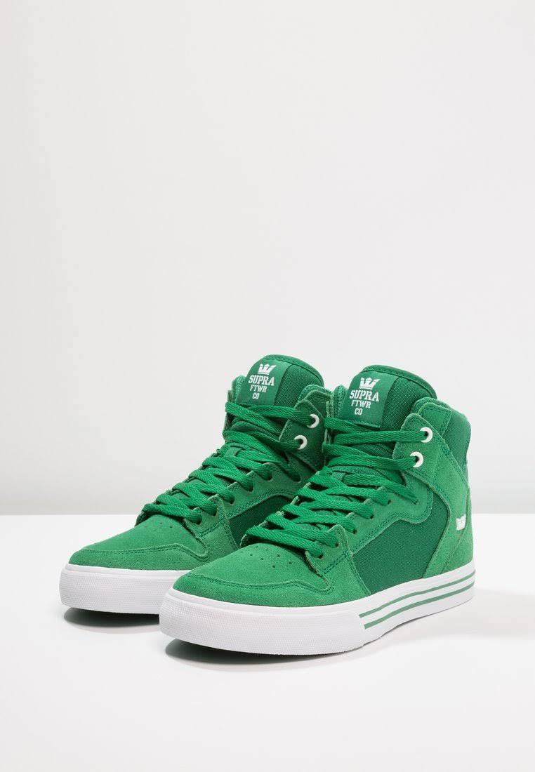 ShoesVaider Supra Green white301Dimensioni47 Supra 5 Rj45A3L