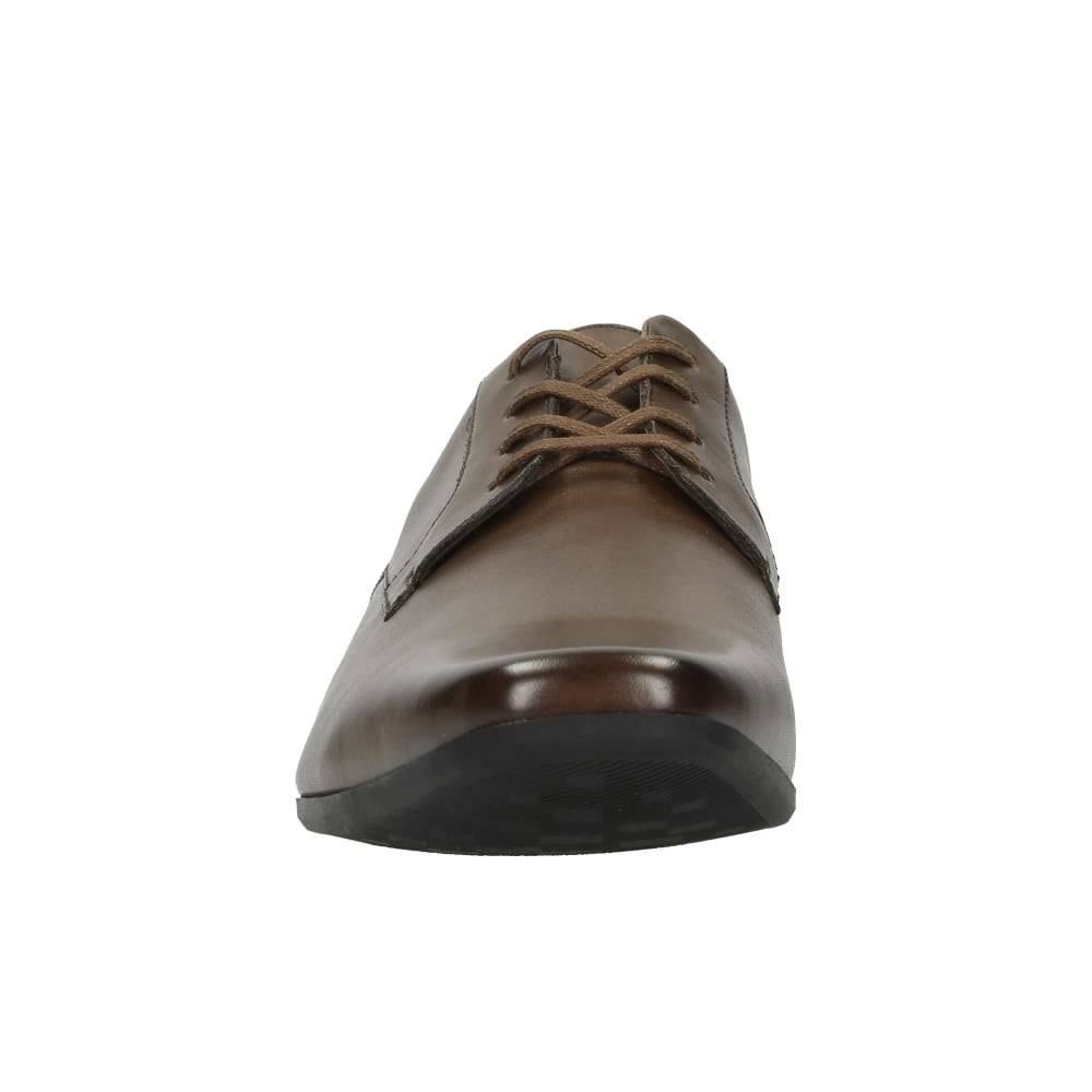 Leather Glement Maat10 Clarks LaceTan Vkbruin 5 RL54j3A