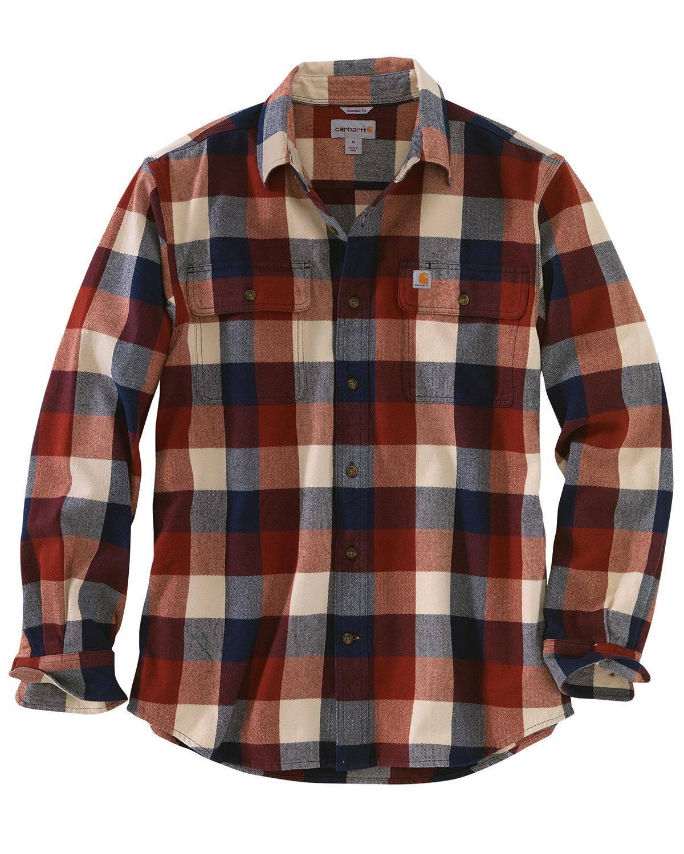 Marino 103348 Camisa A Azul Hubbard Cuadros Carhartt RpY1nOBqR