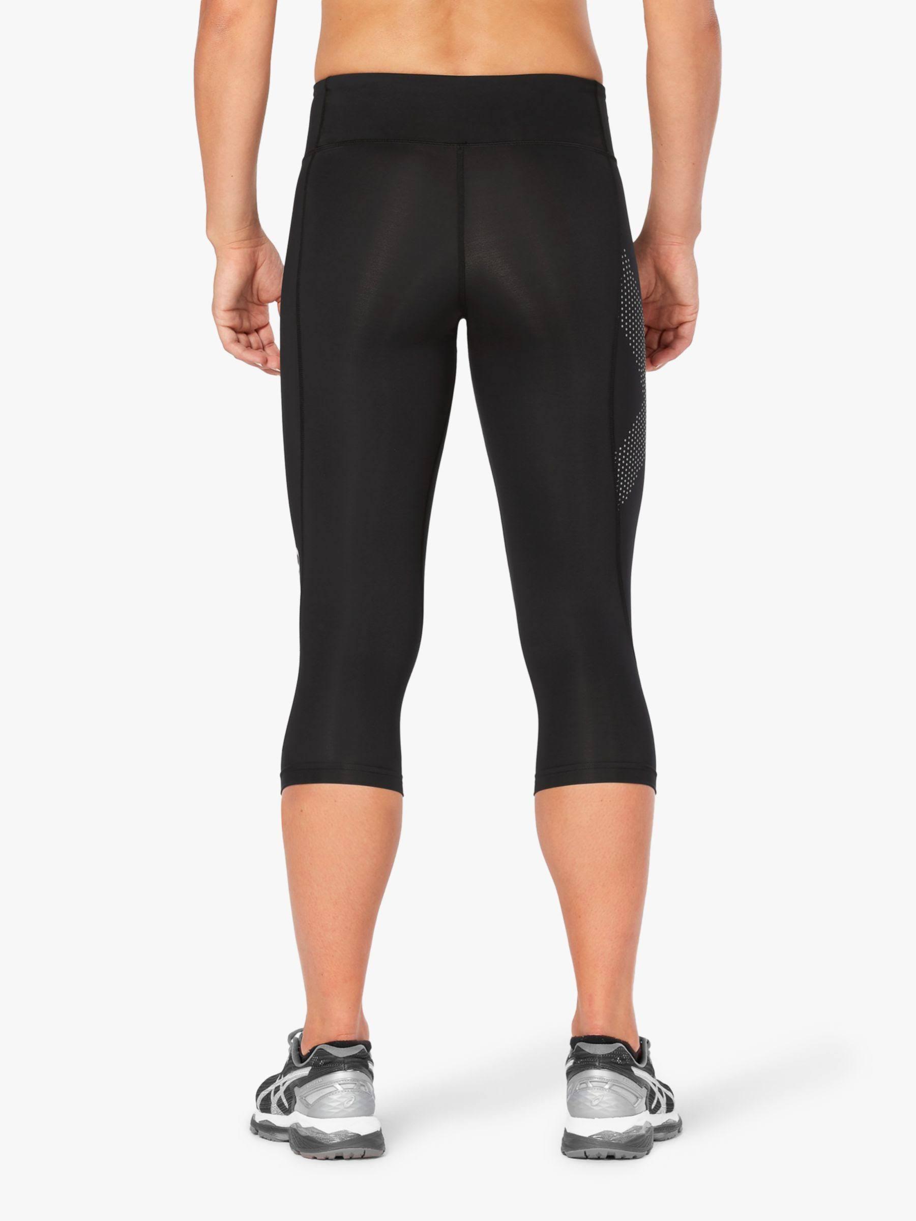 2XU mid-rise Compression Womens 3/4 Capri Tights - Black