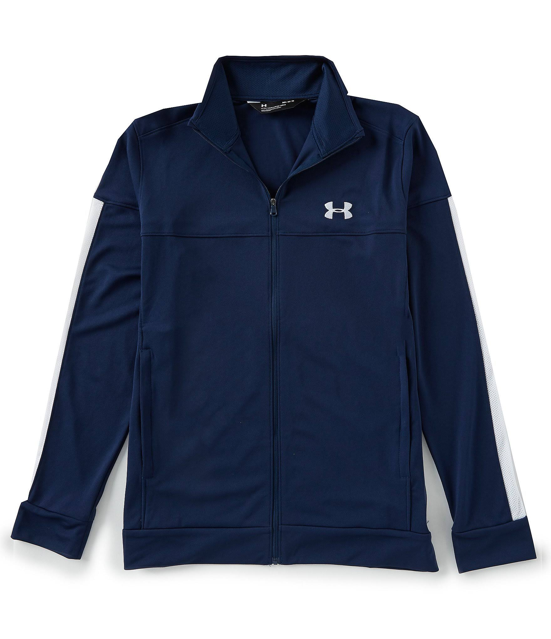Größe Under 3xl Pique Armour Männerakademie Sportstyle Weiß Jacket xqFH7q1wf