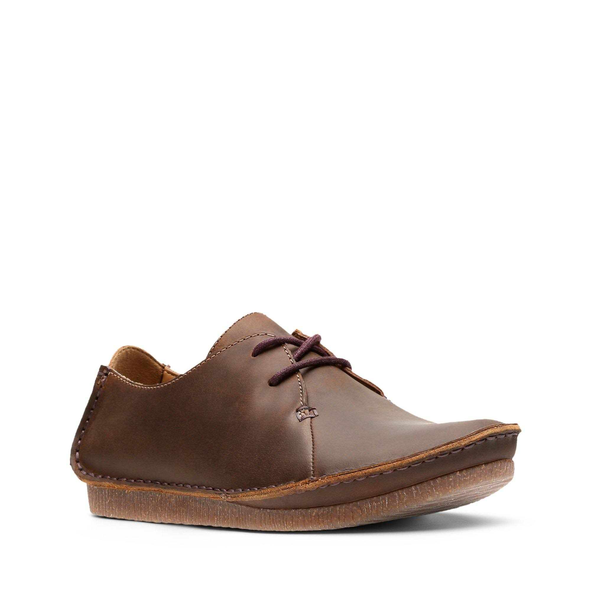 D'apimarrone ClarksJaney Oxfords Marrone Da DonnaColore Mae Cera MqSLzVUpG