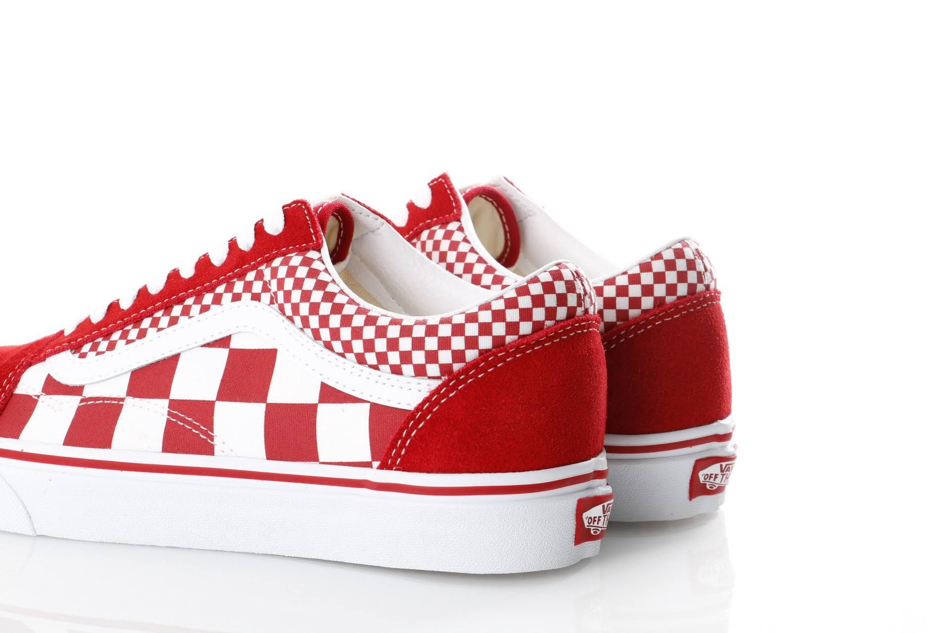 White Old Skool Vn0a38g1vk5 Sneakersmix Ua Vans CheckerChili PepperTrue y80vmwnNO
