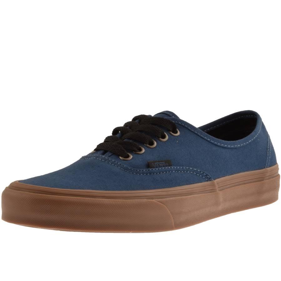 Canvas Lace Authentic Blue Vans blue up Shoes OZgwnxqR