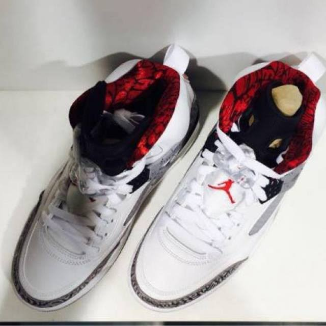 Para Gris Universitario Spizike Cemento Hombre Blanco De Deporte Tamaño Jordan Air Zapatillas Rojo 0 13 XZ1qS6wX
