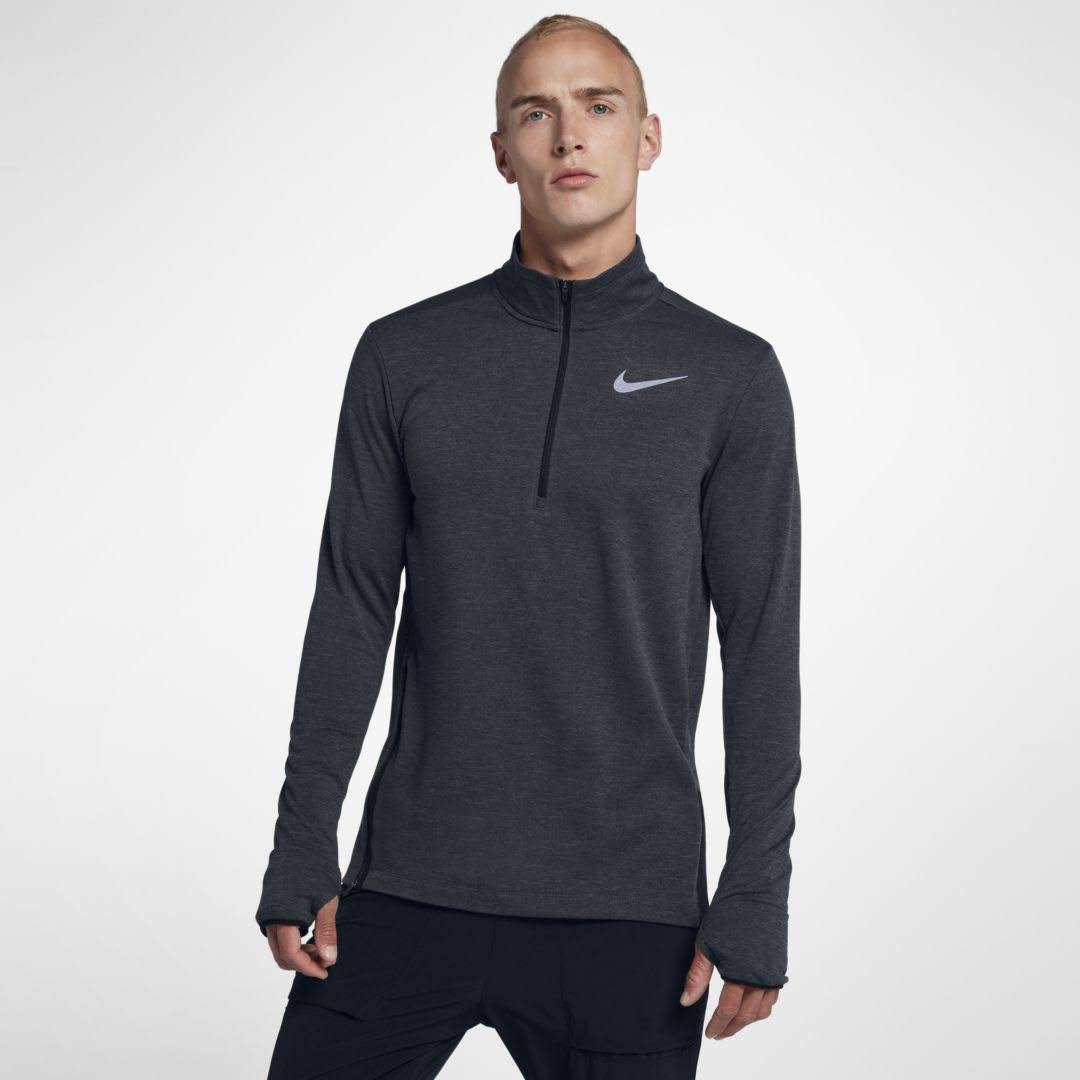 Nike 4 Therma Brezo Zip Gris Negro 1 Para Hombre Track sphere Top Brwdtq4B