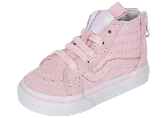 White Zip Sk8 True Chalk Infants Pink Vans Hi AHWSaqH