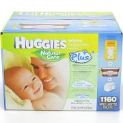 Huggies Natural Care Plus Baby Wipes, 1160-Count - Sale Price Limit 2