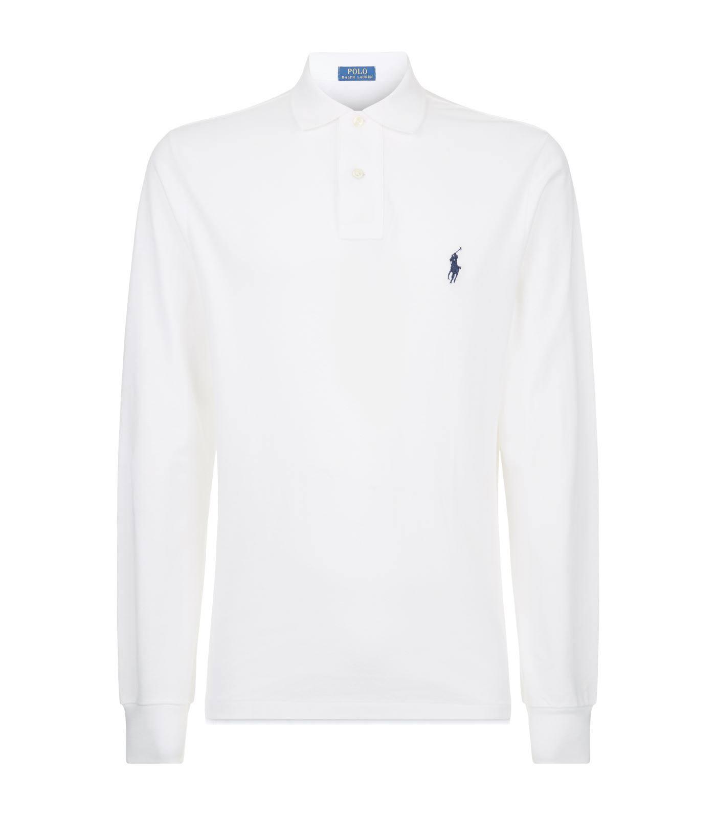 Fit Slim T Weiß Custom shirt Polo Lauren Ralph SxZEw4tq