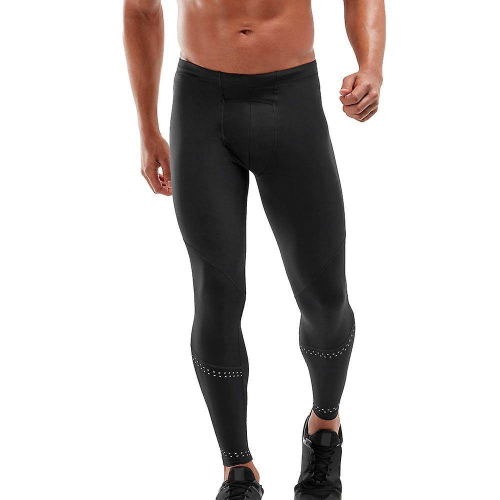 2XU Wind Defence Compression Tights - Black - Large