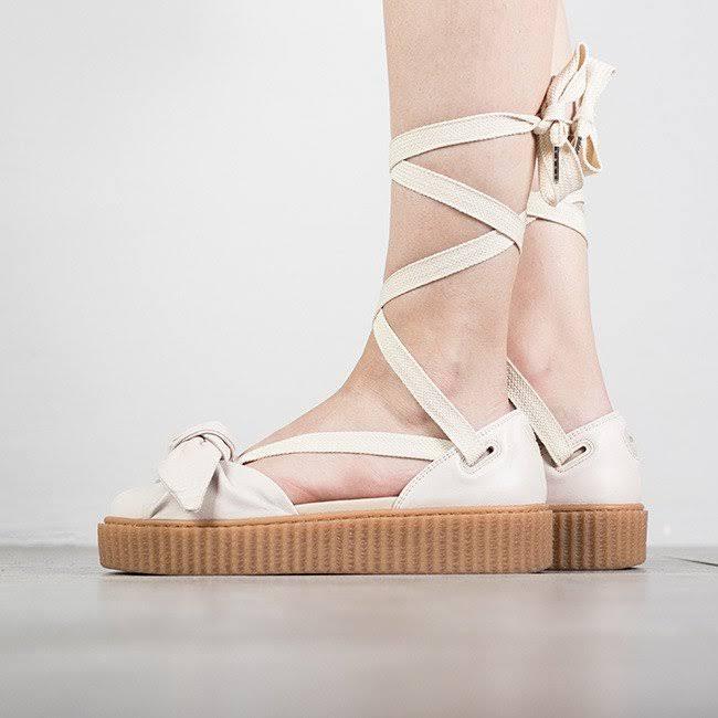 Rihanna De Bow Creeper X Mujer 365794 Sandal Zapatos Puma 37½ Fenty 02 ZR6Oq