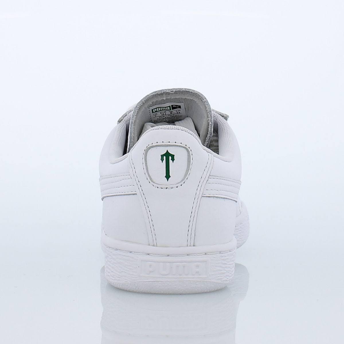 Blanco 10 blanco X Puma Basket 0 Glaciar Trapstar Gris Men Rn1xgIwq