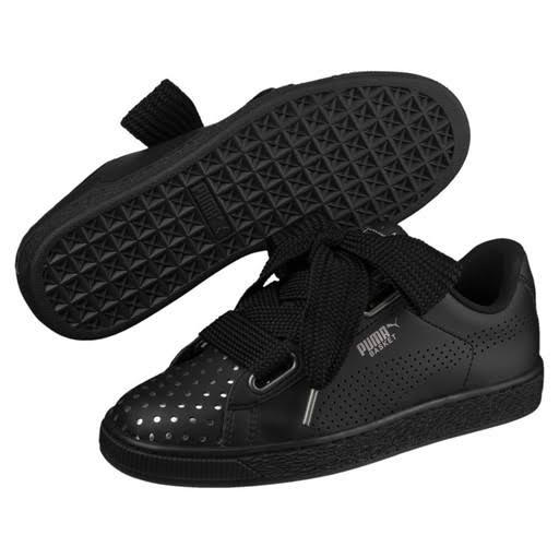 Heart Damen Ath Schwarz Schwarzer Sneakers Lux Puma Pumablack Basket puma wIqERY5