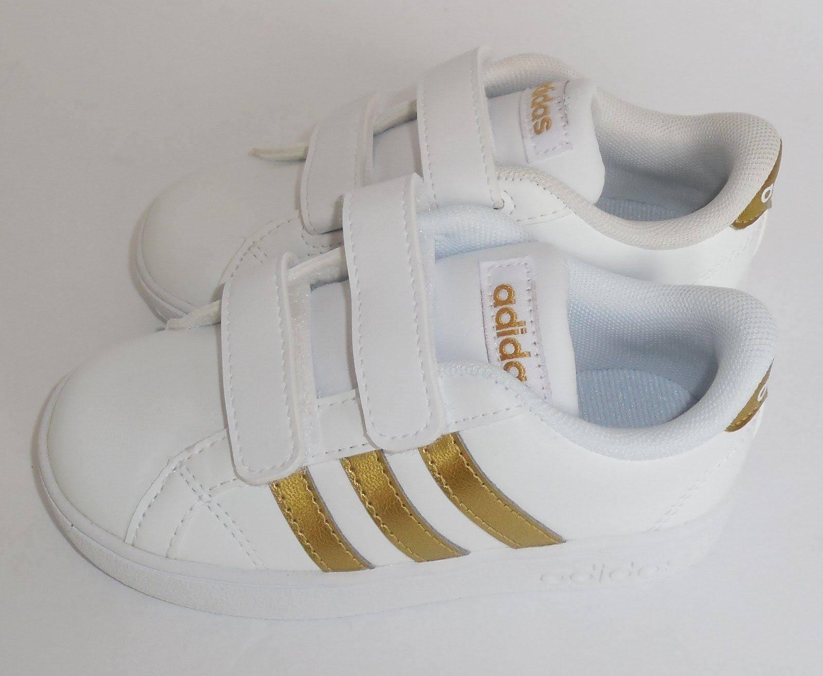 Zapatillas Neo Tamaño Blanco T Pequeños Niños Para Niño 7 Baseline Adidas 66Owq1nPa