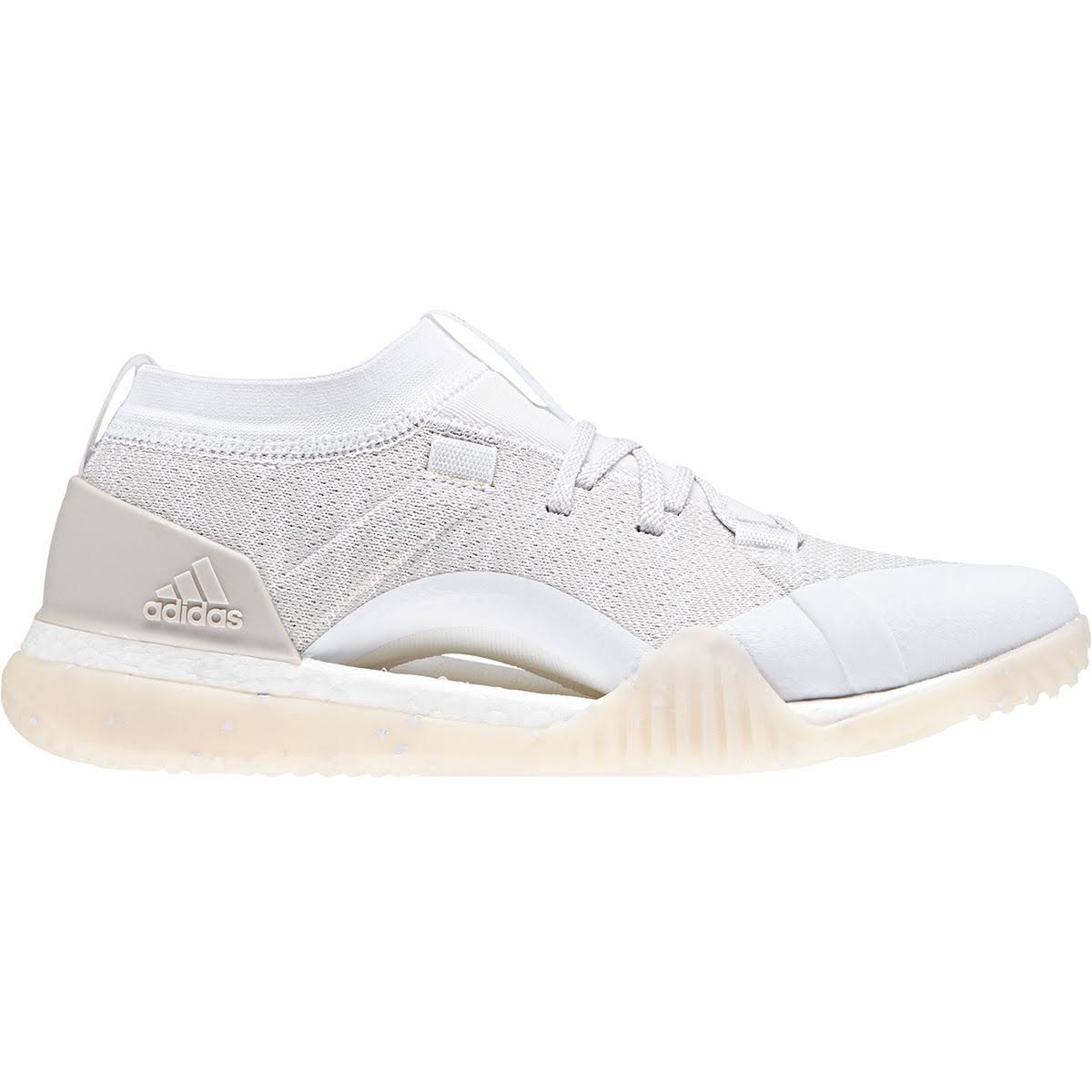 adidas Women's PureBoost X TR Shoes 4.5 FTWR WHITE/CHALK PEA Fitness Shoes