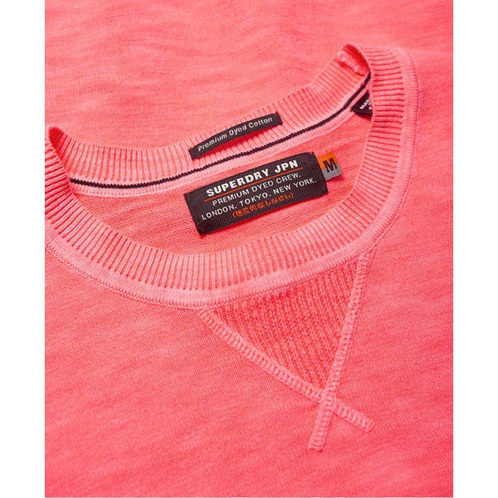 Superdry a L Dye Garment Xxxl Washedneonpink Tripulación qvTZPqwx