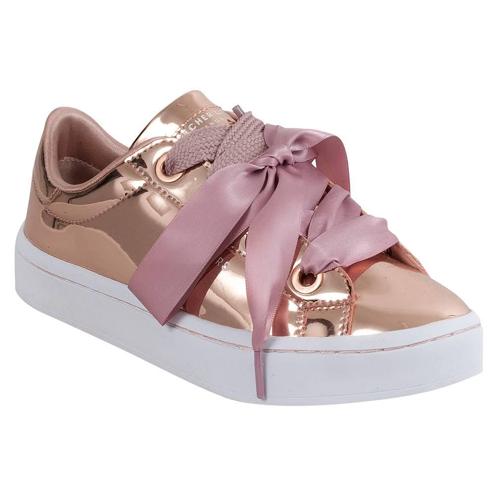 Hi Rosa Para Talla lites Zapatillas Mujer Bling Skechers 8 Liquid 64xS5w7aq