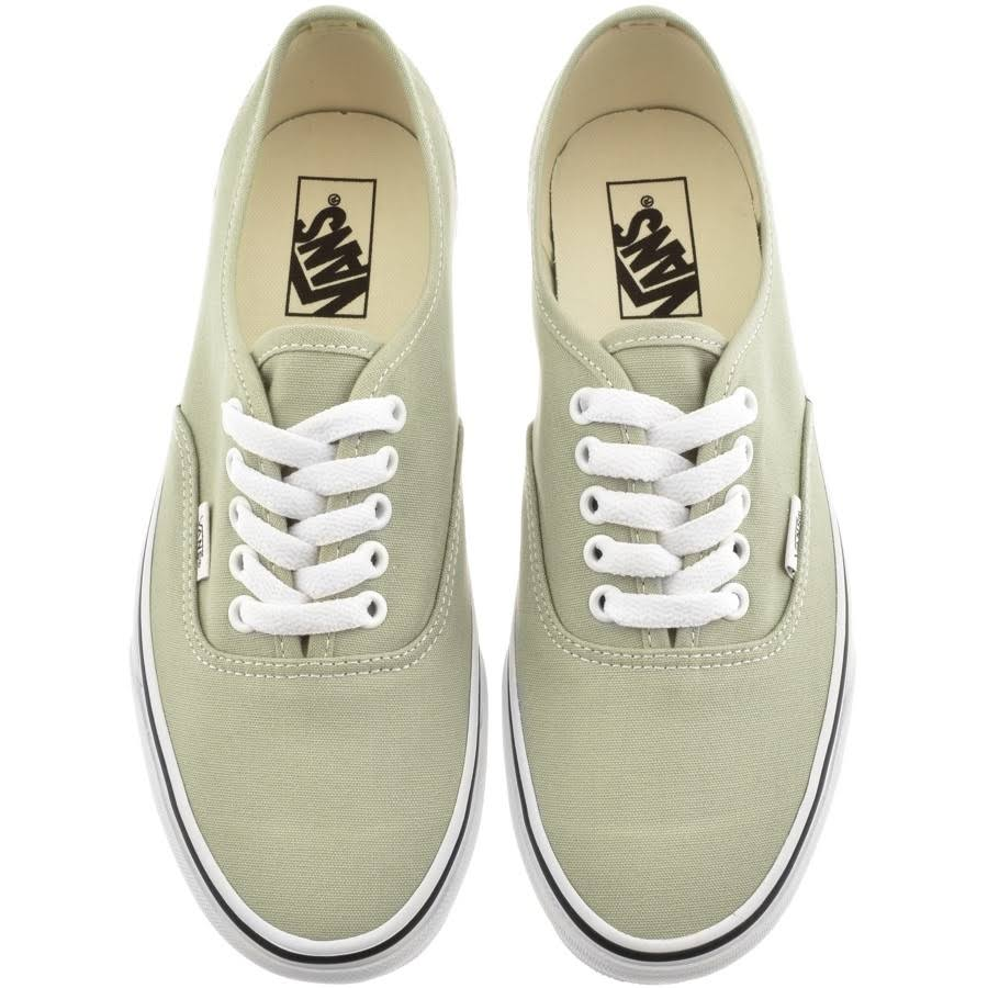 Authentic Vans Green Trainers Green Authentic Trainers Vans Authentic Trainers Vans 0vBPx1qS