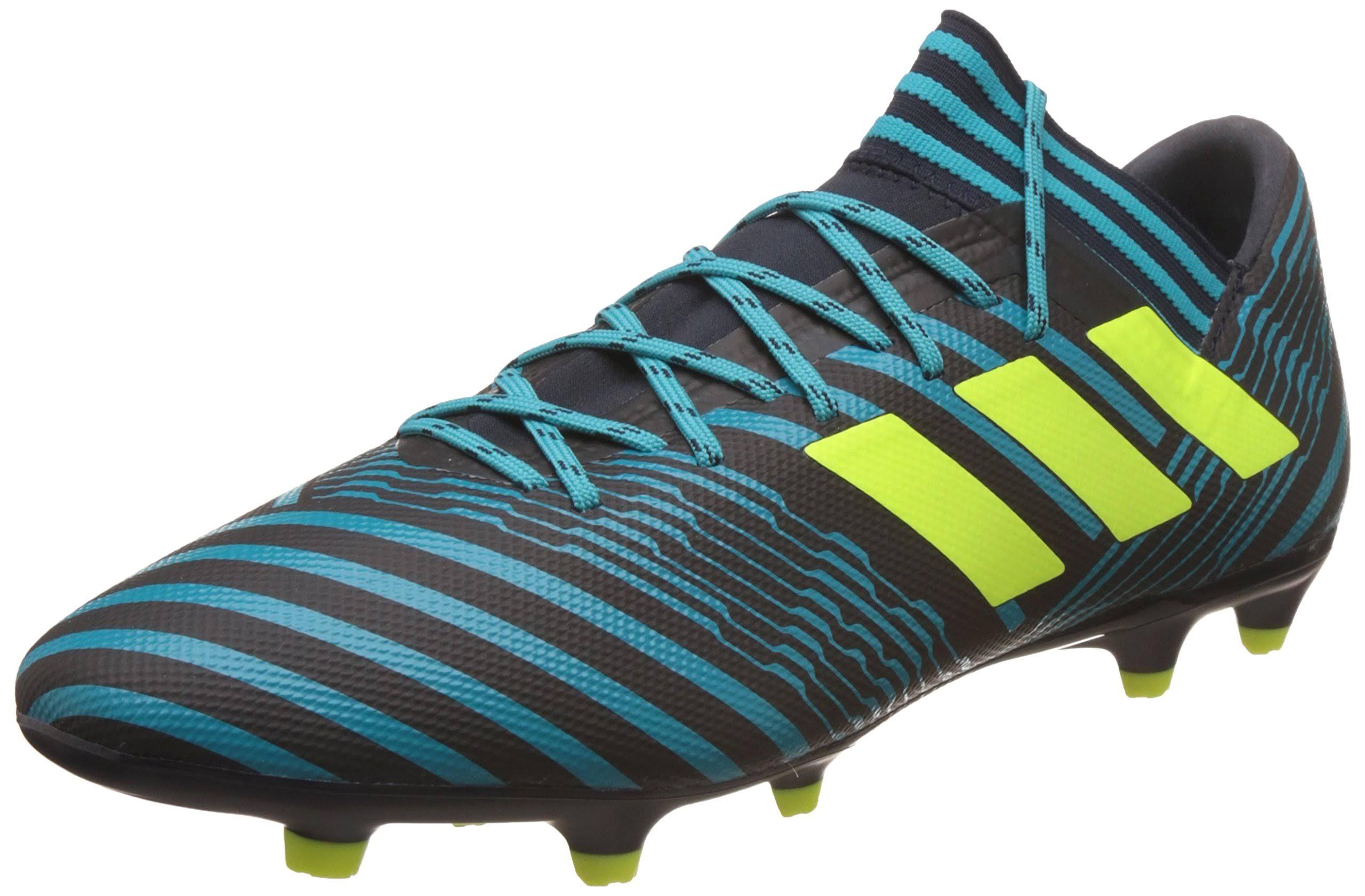 7 Tamaño 17 Hombre Tacos Para Adidas Nemeziz Azul Fg De Fútbol 3 qqxBv6w
