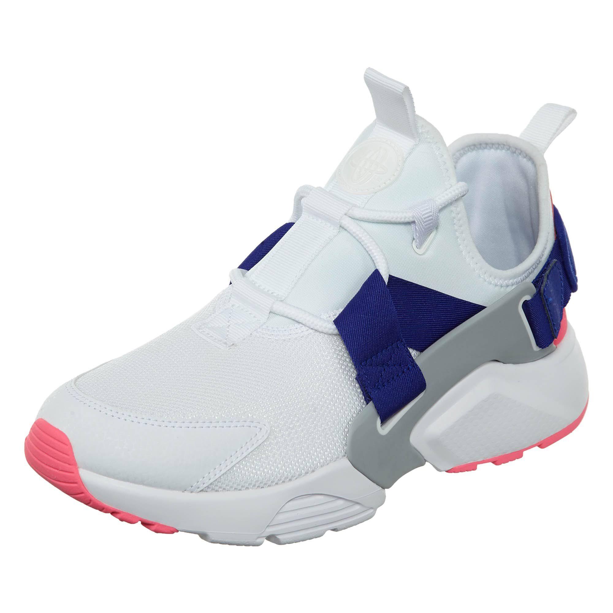 Nike Sneakers Ah6804 101 Womens White Air City Huarache Low 7F1A7Pr