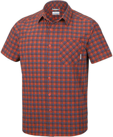Heatwave Canyon Columbia Corta Para Color Roja Triple De Camisa Plaid Talla Manga Hombre Xl qpXfwxTaM7