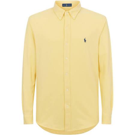 Malla Lauren De Polo Amarilla Camisa Ralph IqwFxTg6R