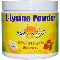 Nature's Life, L-賴氨酸粉