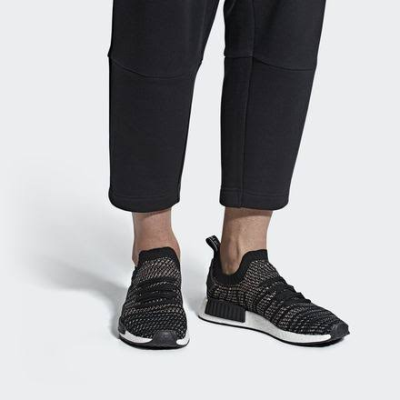 Adidas 5 12 Rosa Nmd r1 Tamaño Zapatillas Para 'negro Stlt Hombre Primeknit PP6Zw