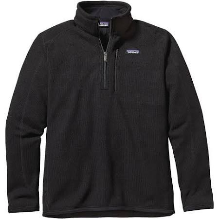 L 1 Better Zip 4 Sweater Negro Fleece Patagonia 10xw7z8q0