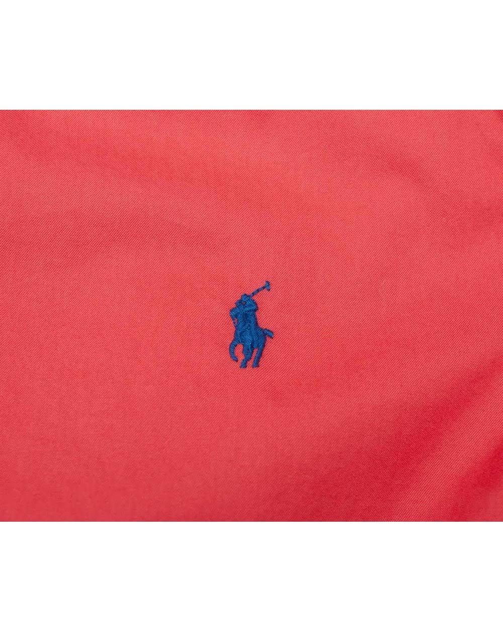De Ralph Polo Peso Pluma Camisa Rojo Sarga Lauren Color Slim Fit Tamaño Rojo XgxxBqwHC