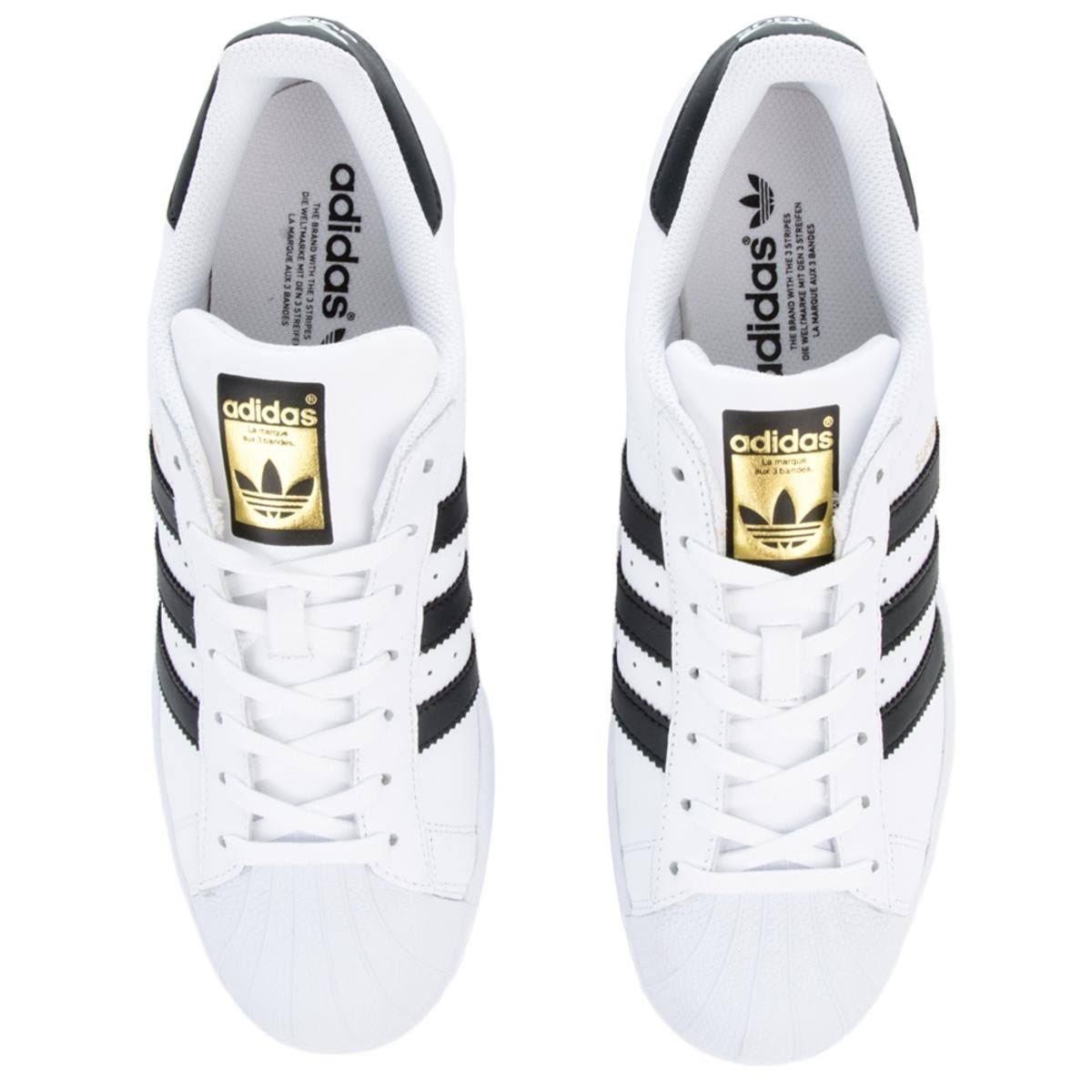 12 Superstar biancoNero Nero Adidas Bianco 5 uPXikOZ