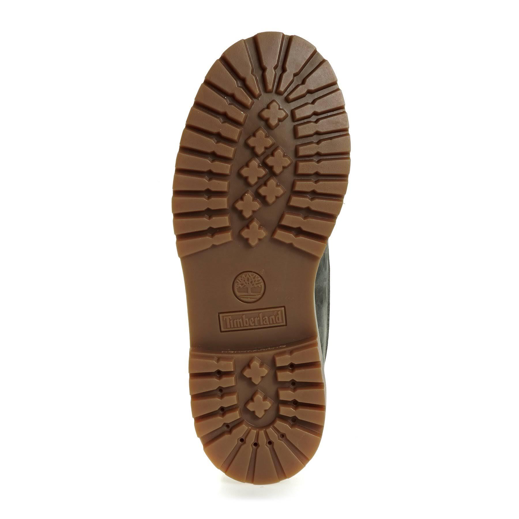 Timberland Nubuck Grey 3 Size Premium Cool Waterproof Boots Grade School Boys 6