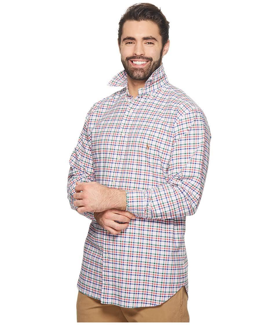 Ralph Tall Sporthemd Für Polo Big Herren Langärmliges Lauren Langärmliges 3xb Tdw1qUn