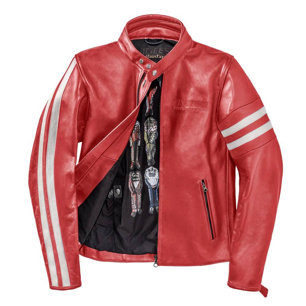 Jacke 60 Freccia72 Größe Rot Weiß Dainese 4qR55