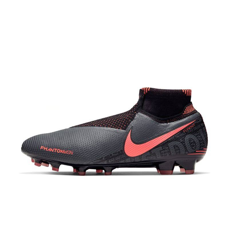 Nike Phantom Vision Elite DF Mens FG Football Boots - DkGrey/Mango